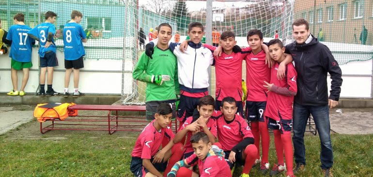Detská liga v malom futbale